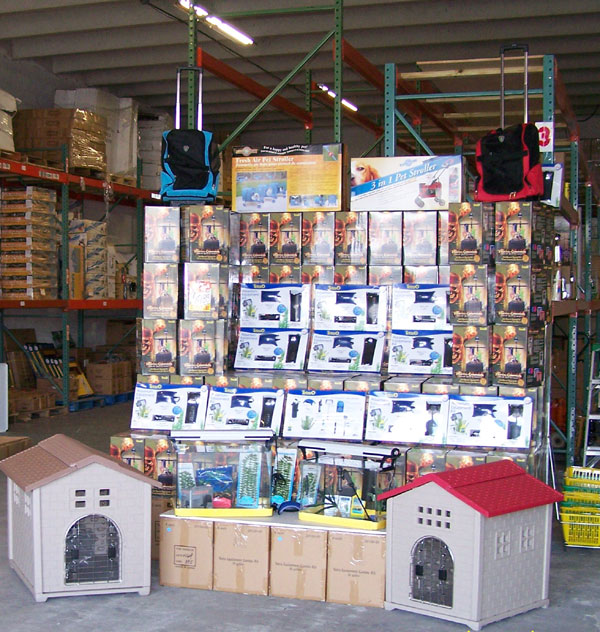 miami warehouse pet supplies wholesaler exporter