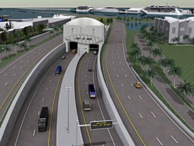 port miami tunnel