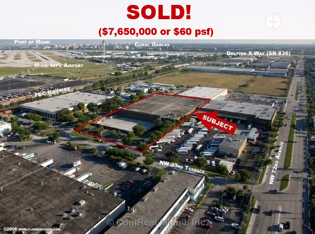 miami warehouse sold
