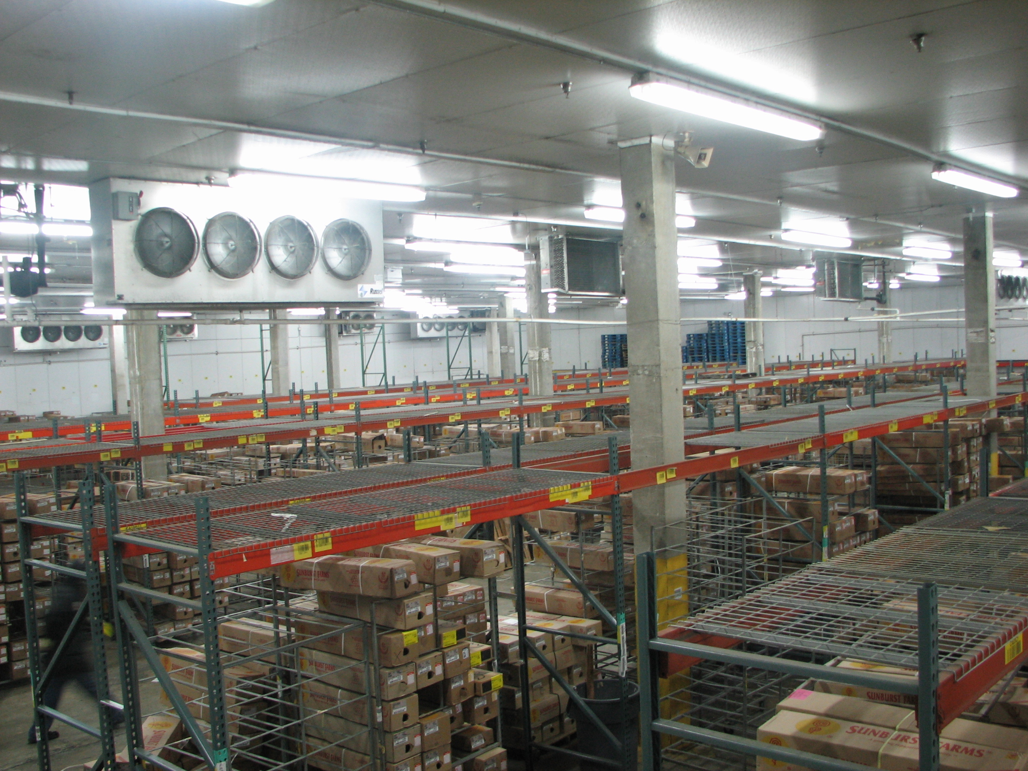 refrigerated warehouse in miami