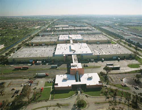 miami free zone aerial image