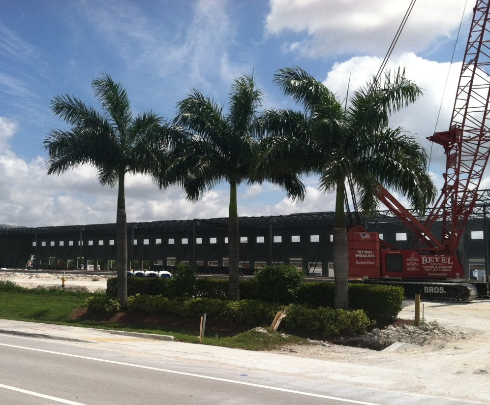 miami warehouse construction
