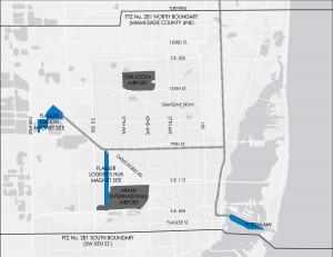 miami foreign trade zone ftz map