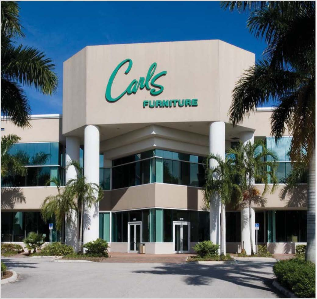 carls furniture warehouse