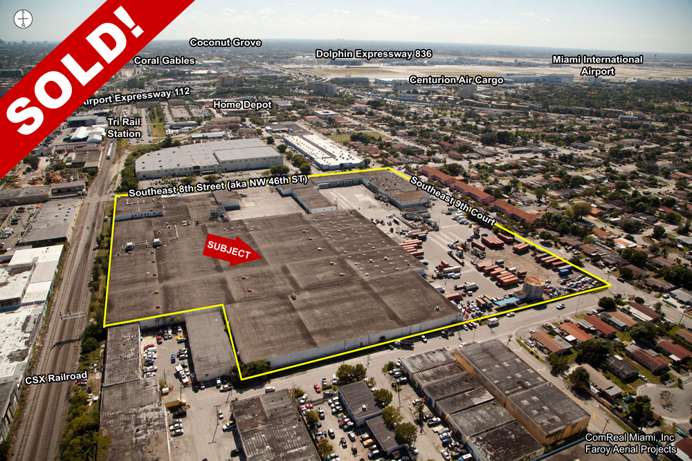 hialeah warehouse sold