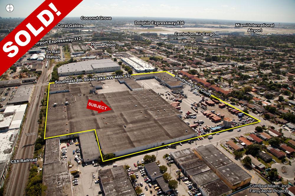 hialeah warehouse sold