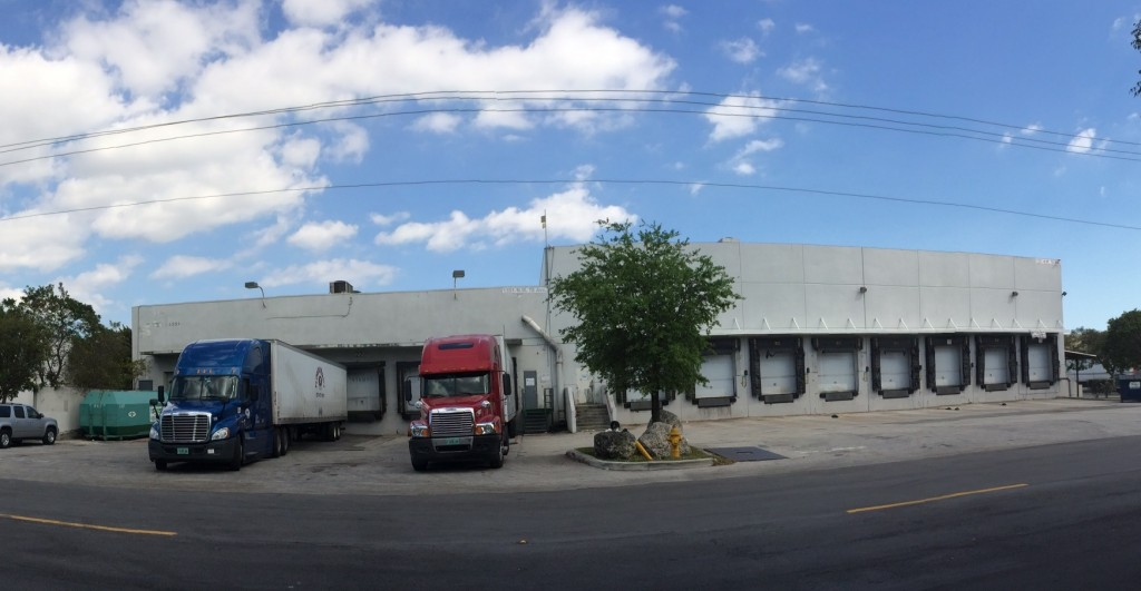miami-dade county warehouse leased