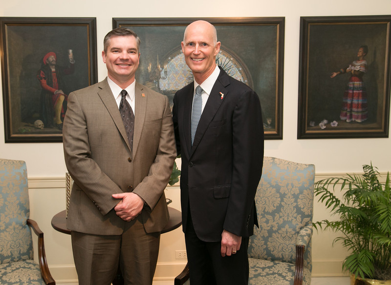 ed redlich and governor rick scott