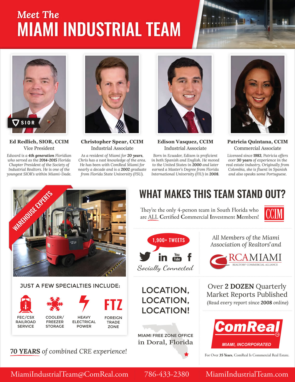 Meet The Miami Industrial Team