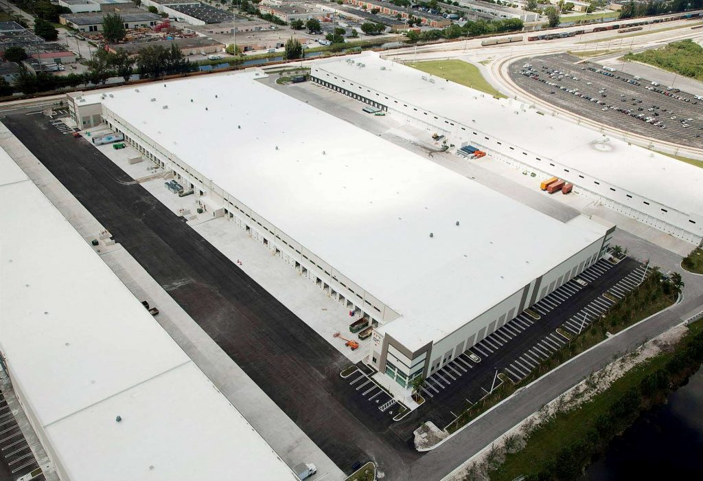 south florida logistics warehouse building