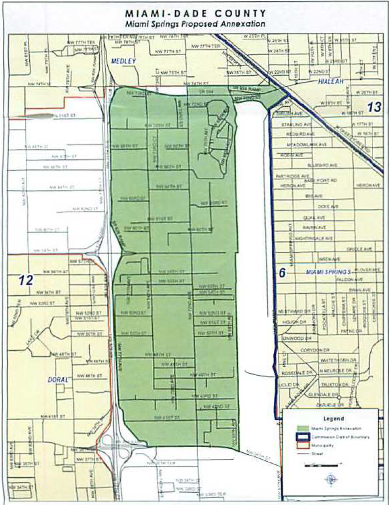 miami springs annexation